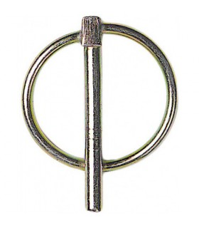 Goupille clips pour roue 4mm
