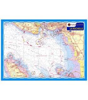 Carte marine plastifiée A3 La Rochelle
