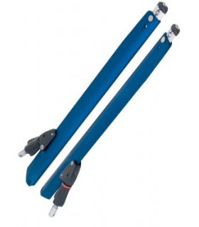Barres de flèche réglables V3 450mm molette nylon