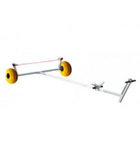 Chariot de mise à l'eau alu sangle roues ballons Dunemer