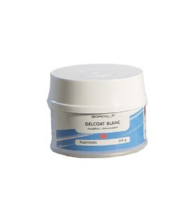 Gel Coat Plastogel + catalyseur 250g