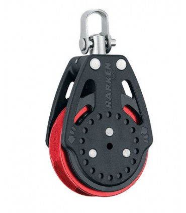 Poulie winch 57mm Carbo Ratchamatic® - Red sheave