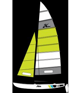 Hobie 16 Race Couleur Cayman Charter