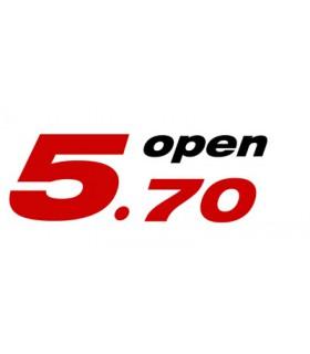 Autocollant Open 5.70