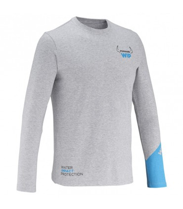 T-Shirt Gris Bras longs