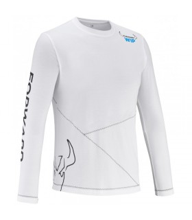 T-Shirt Blanc Bras longs