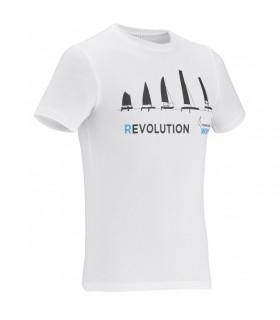 T-Shirt Blanc bras courts EVO