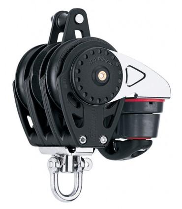 Poulie winch 57mm triple ringot Carbo Ratchamatic®