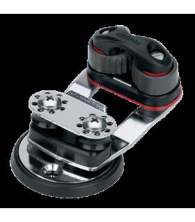 Tourelle à réas pivotante taquet 27mm micro Cam-Matic®