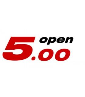 Entretoise empreinte axe quille Open 5.00