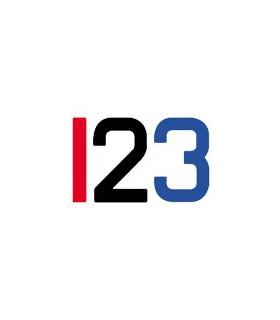 Numéro adhésif insignia 230mm