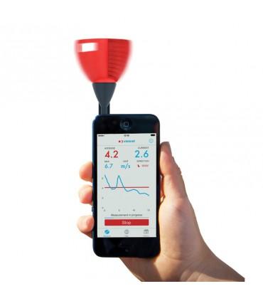 Anemometre pour smartphone Sleipnir