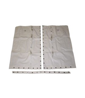 Trampoline HC14 compatible Mesh polyester enduit