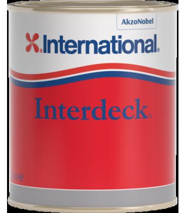 Peinture pour pont antidérapante Interdeck 750mL