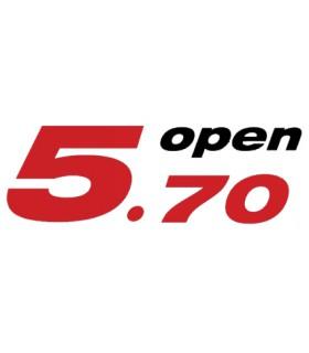 Drisse de foc Open 5.70 5mm