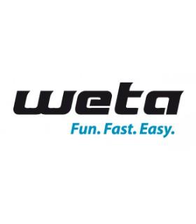 Amarrages poulie de Gennaker pour Weta 4.4