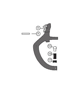 Casting inférieur monté HC18 & HC18 Formula
