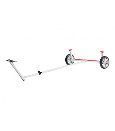 Support en V pour chariot mise à l'eau Laser® alu
