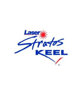Taud dessus Laser Stratos Keel Polyester Ripstop enduit PU 270g/m²