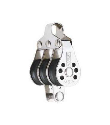 Poulie triple ringot 22mm micro