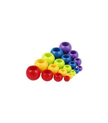 Boule plastique 4mm