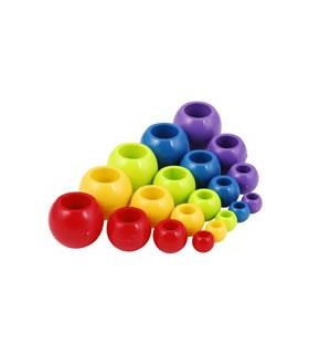 Boule plastique 8mm