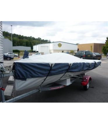 Taud dessus Open 5.00 Polyester Ripstop enduit PU 270g/m²