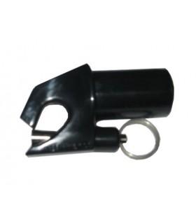 Embout de tangon 25mm à piston