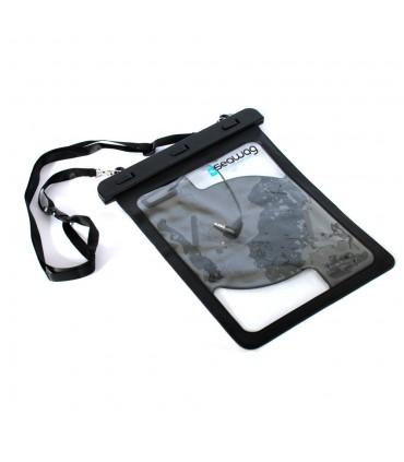 Pochette étanche Tablette avec poignée et sortie écouteurs