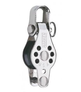 Poulie simple ringot manille 22mm micro