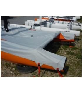 Taud de parking SL16 complet Polyester Ripstop enduit PU 270g/m²