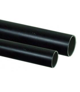 Tube alu anodisé noir 25x2mm ml