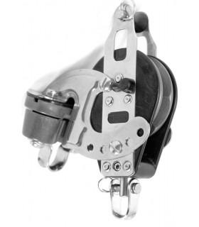Poulie winch 57mm ringot taquet